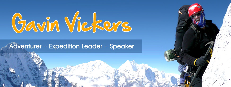 Gavin Vickers - Adventurer, Expedition Leader, Speaker